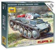 Zvezda German Panzer II 1/100