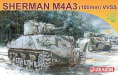 Dragon SHERMAN M4A3 105mm 1/72