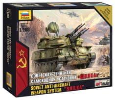 Zvezda Anti-Aircraft Weapon System Shilka 1/100