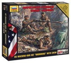 "Zvezda American Machine gun ""Browning"" 1/72"