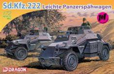 Dragon Sd.Kfz.222 LEICHTE PANZERSPÄHWAGEN 1/72