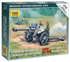 Zvezda German Howitzer leFH-18 1/72