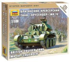 Zvezda British Tank MK IV Cruiser 1/100