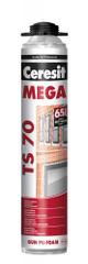 Ceresit  TS70 Mega PRO 850ml - pu pena pištoľová na okná a dvere