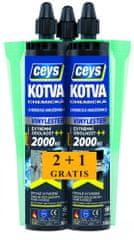 Ceys  Chemická kotva vinylester 2+1 grátis