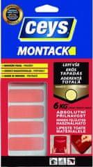Ceys  Montack Lepí všetko okamžite montážna páska - prúžky 10ks