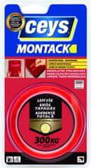 Ceys  Montack Lepí všetko okamžite montážna páska 19mmx2,5m