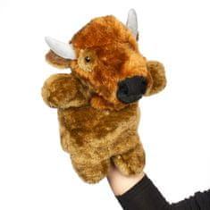 Kids World Plyšový maňásek bizon 32 cm, samostatně