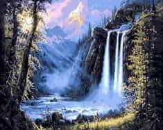 Kouzelný Art Malování podle čísel Vodopády