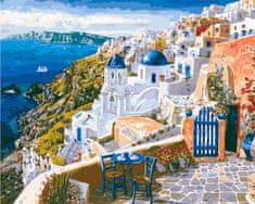 Kouzelný Art Malování podle čísel Santorini