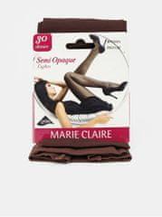 Marie Claire hnědé punčochové kalhoty 30 DEN