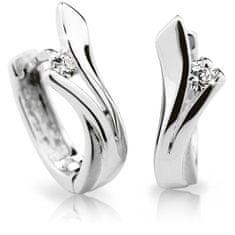 Cutie Diamonds Luxusné kruhové náušnice z bieleho zlata s briliantmi DZ6434-1795-80-00-X-2