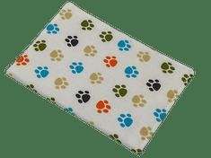 Šišipu Obal na očkovací průkaz psa nebo kočky Barevné packy