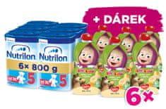 Nutrilon 5 detské mlieko 6x 800g, 36+