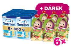 Nutrilon 5 Vanilla detské mlieko 6x 800g, 36+