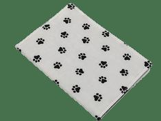 Šišipu Obal na očkovací průkaz psa nebo kočky Černé tlapky