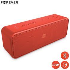 Forever BLIX 10 Bluetooth zvočnik, BS-850, 10W, TWS, IPX7, rdeč - Odprta embalaža