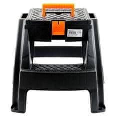 Koopman Schůdky/stolička s boxem na nářadí, 47,5 × 42 × 43 cm (1311118829)