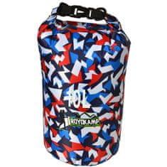 Vodoodporna vreča ROYOKAMP 10 l, multicolor 2 (modra/rdeča) T-253