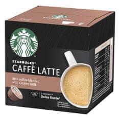 Starbucks Caffe Latte by NESCAFE DOLCE GUSTO Kávové kapsule, 3x12 kapsúl v balení