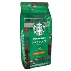 Starbucks Pike Place Espresso Roast, zrnková káva, 450 g