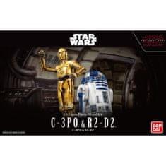 Namco Bandai Games Star Wars C-3PO & R2-D2 1/12