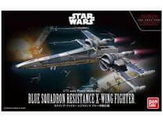 Namco Bandai Games Bandai Star Wars Blue Sq. Resistance X-Wing Fighter 1/72