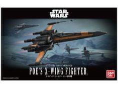 Namco Bandai Games Bandai Star Wars Poe's X-Wing Fighter 1/72