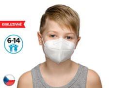 Dama Trade 10x Český respirátor FPP2 vhodný pro děti- bílý (15,9 Kč/ks)