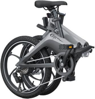 Elektrické skládací kolo MS Energy E-bike i10 do terénu i do města výkonný motor nafukovací pneumatiky velká kola kompaktní rozměry robustní konstrukce