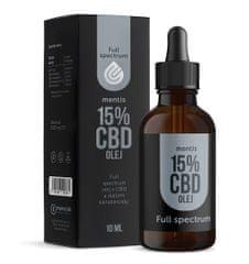 Mentis 15% CBD Full Spectrum olej