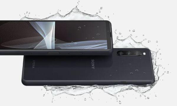 Sony Xperia 10 III 5G voděodolný, odolný proti nárazu, Gorilla Glass 6, IP68, vodotěsný prachuvzdorný OS Android 11