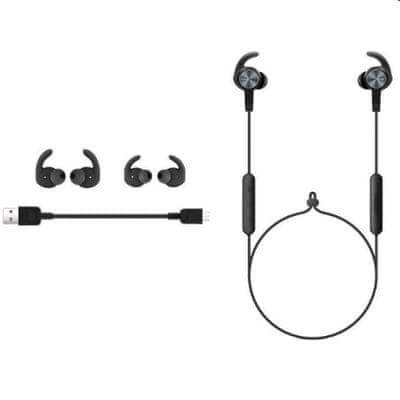 Huawei CM61 Bluetooth sport fülhorgok mágneses fülhorgok akár 11 órás újratölthető kihangosító mikrofon hanggal támogatják a modern sporttervezést
