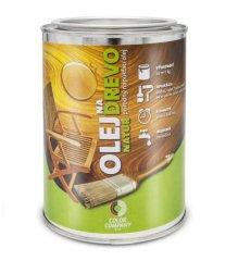 Color Company Olej na drevo NATUR 0,5L bezfarebný - prírodný napúšťací olej
