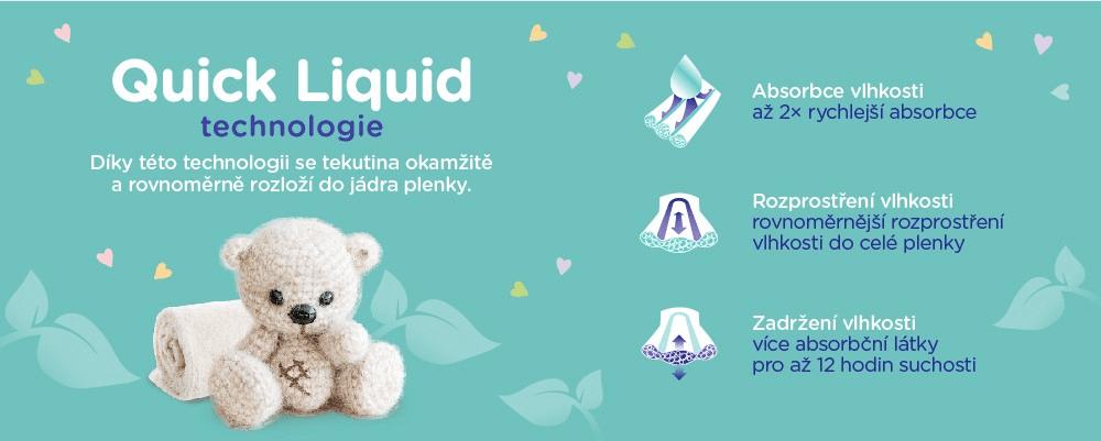 Linteo plenky technologie Quick Liquid