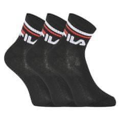 FILA 3PACK ponožky černé (F9398-200)