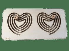 LINIT DESIGN Plošča za razvoj bilateralne koordinacije - srce