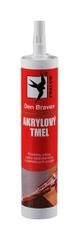 Den Braven  Akrylový tmel biely 310ml