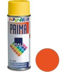 DUPLI COLOR Sprej Prima RAL PR2009 oranžová dopravná lesklá 400ml
