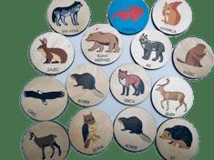 LINIT DESIGN Igra spomina - živali Evrope