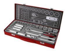 Fortum Kľúče nástrčné 1/2´´, 8-34mm, 29-dielna sada