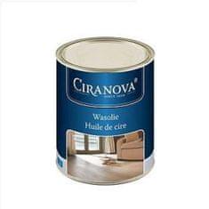 Ciranova Voskový olej na dřevěné podlahy a stěny, bezbarvý, 1l (650-001818 N1A)