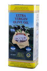 """OLIVA Import Extra panenský olivový olej """"THASSOS"""" 5,0 litru"""