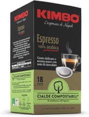 Kimbo kawa w saszetkach ESE 100% Arabica 18 szt., 125 g