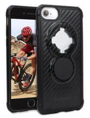 Rokform Kryt na mobil Crystal - Carbon Clear pro iPhone 8 / 7 / 6 SE (2nd Gen), černý 304521P
