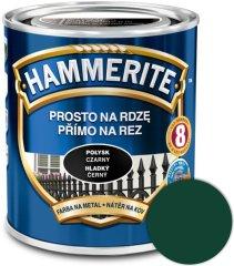 HAMMERITE  Priamo na hrdzu Hladký tmavozelený 0,25l