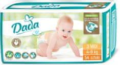 Dada Extra Soft, jednorazové plienky, veľ.:3, 4-9 kg, 54 ks