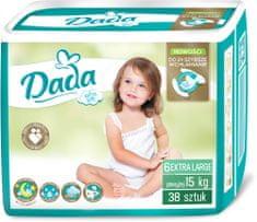 Dada Extra Soft, jednorazové plienky, veľ.: 6, 15 kg, 38 ks