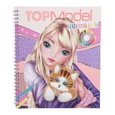 Top Model Pobarvanka   pobarvanka, Louise in mucka - aplikacija