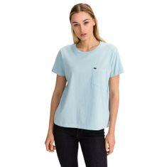 Lee Tričko Garment Dyed Tee Sky Blue